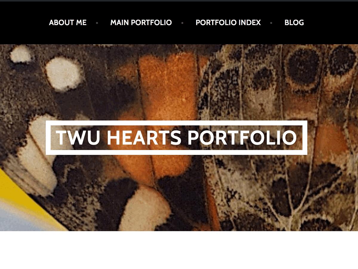 TWU Hearts Portfolio Theme